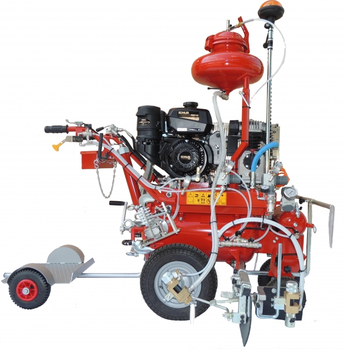 R 30 SS50 - hydraulic self-propelled - - VEZZANI SRL